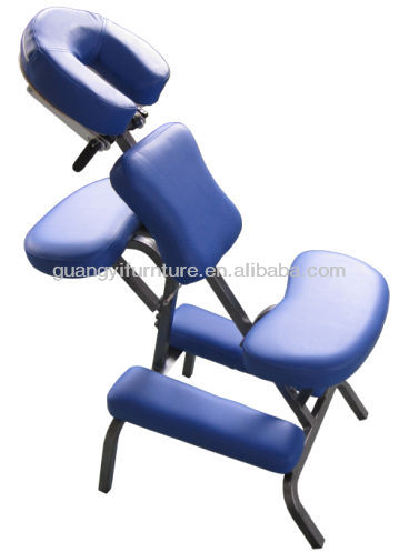 GuangYi metal portable adjustable massage chair
