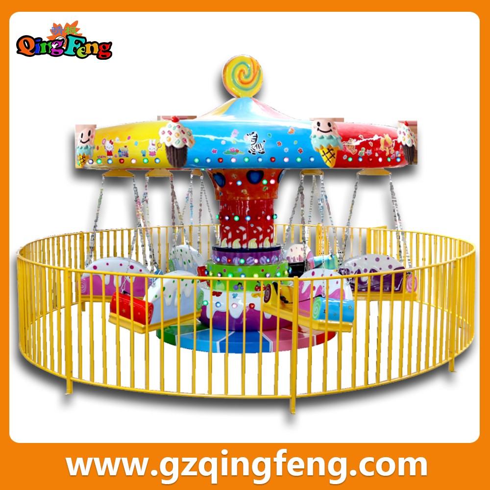 2016 Guangzhou Canton Fair big discount amusement park products flying chair arcade game equipment