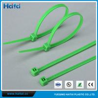 Haitai China All Colors Self-Lock Fireproof Anti Acid&Erosion Nylon Cable Tie Zip Ties