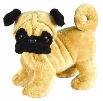 Realistic And Funny Plush Toys Pug Dog Realistic Stuffed Dog Plush