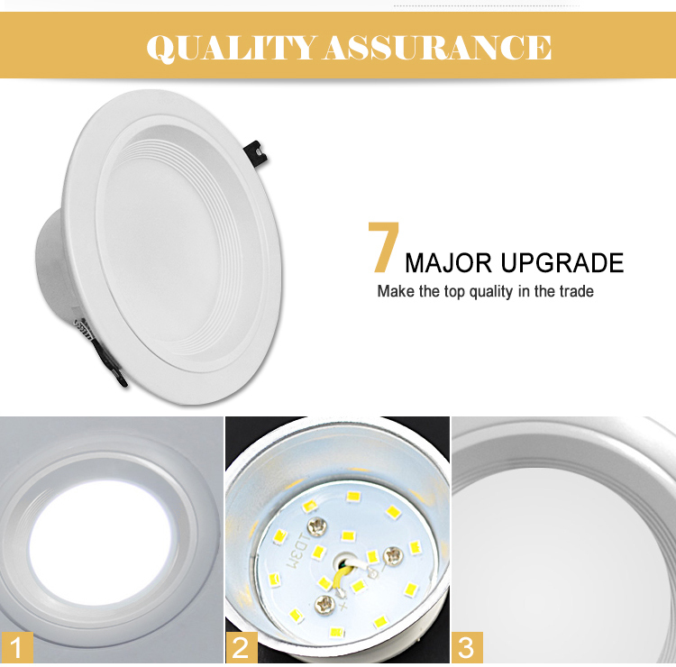 80lm/w ceiling recessed led downlight High CRI and High quality,Indoor use