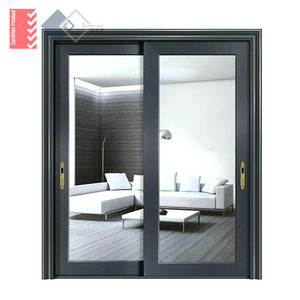 Double Glazing Built-in Blinds Aluminium Office Partition Doors And Windows With German Famous Brand Hardware