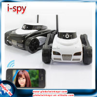 spy remote control car/tank/robot iPhone/iPad Controlled with 0.3MP camera