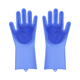 Papani Food Grade Silicone Cleaning Sponge Dishwashing Magic Gloves