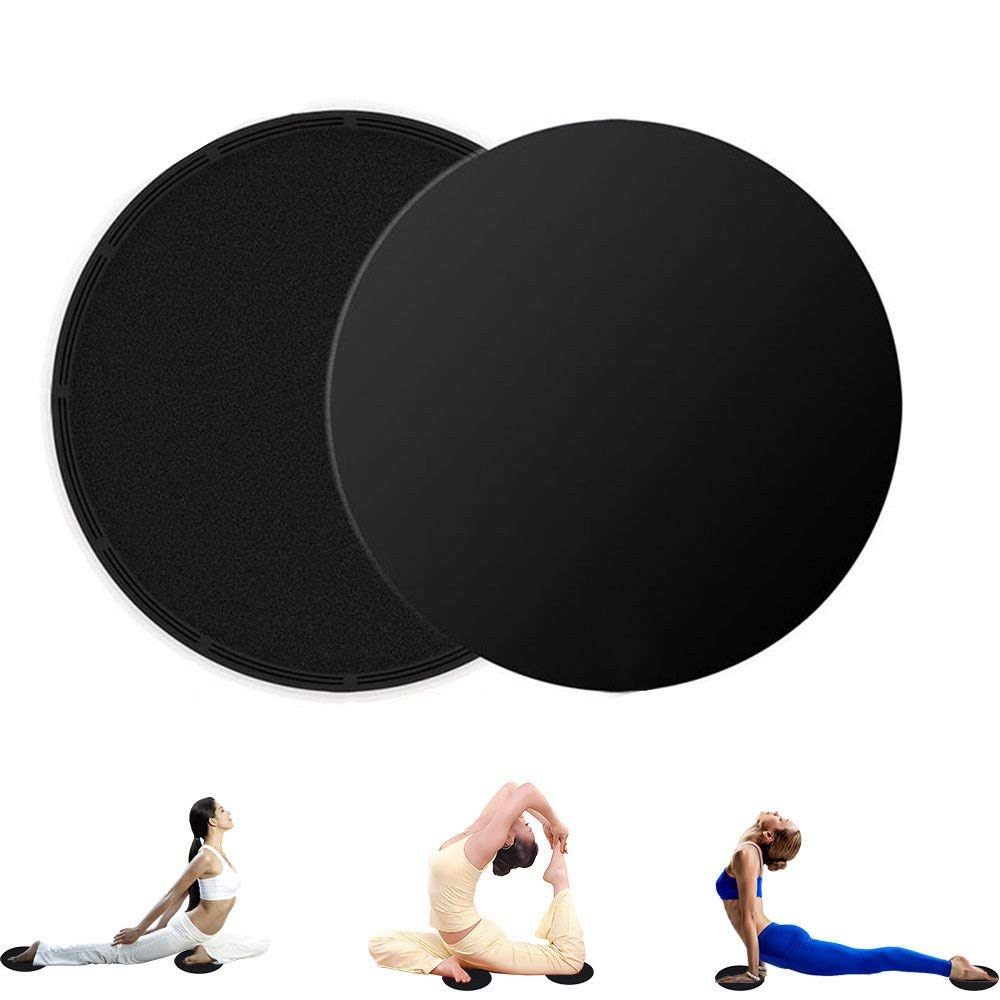 Dual Sided Gliding Discs Core Sliders Exercise Sliding Workout Strength Carpet Good Taste Accessories Fitness Equipments