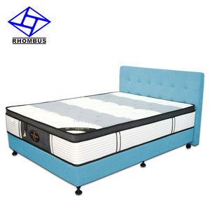 Italian Pressure Relief King Orthopedic Bamboo Hotel Bed Mattress JT1701