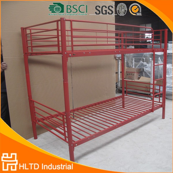 Best Quality New Design Red Stackable Metal Bunk Bed Buy Red
