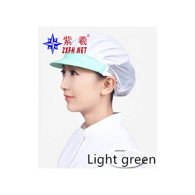 Food Service If New Disposable Cap Headgear Cap Non-woven Hat Chef Hat Kitchen Fume Lamp Hat Dust Cap One Pack Of 100