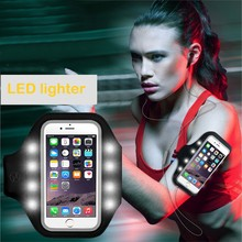 2017 Trending products for iphone 7,high quality cell phone led armband,mobile phone accessories