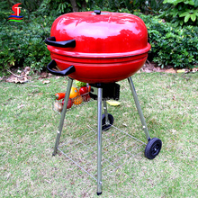 2017 Professional custom camping weber bbq grill , portable charcoal kettle bbq grill with non-stick mat
