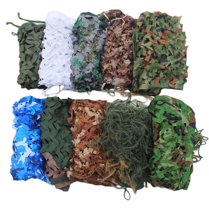 Outdoor hunting  Green Forest woodland Camouflage shade camo net