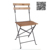 Cheap White Wood Outdoor Garden French Folding Chair