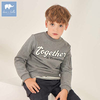 DBK8151 dave bella 5Y-13Y kids boys fashion pullover children long sleeve t shirts baby boutique handsome tops