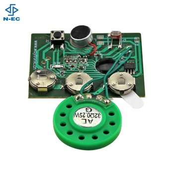 Music Greeting Card Sound Module Motion Sensor Recorder Voice Chip - Buy  Recordable Sound Chip For Greeting Card,Programmable Musical Chips For