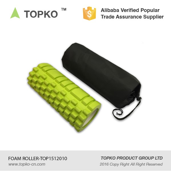 New Product Private Label Grid Massage Logo Printing Fintess Foam Roller