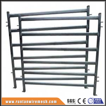 cheap metal horse corral fencing steel yard rail fence. Black Bedroom Furniture Sets. Home Design Ideas