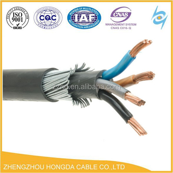 Brilliant 1 1Kv Copper Shield Steel Wire Braided Armoured Cable 10Mm View Wiring Digital Resources Funapmognl