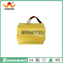 Manufacture Nicd/Nimh rechargeable battery 6v 600ma