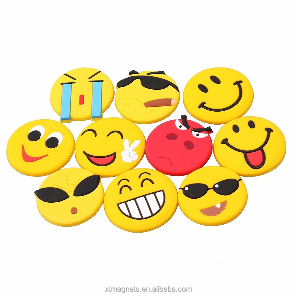 13 Packs Set Epoxy Fridge Magnet 3D Emoji Epoxy Fridge Magnets for Decoration