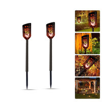 2018 New Product Garden Flickering Lamp Dancing Flame LED Solar Energy Torch Light Decoration Garden Patio Solar Landscape Light