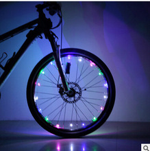 LED rechargeable color changing for wheel bicycle 12v waterproof led strip lights