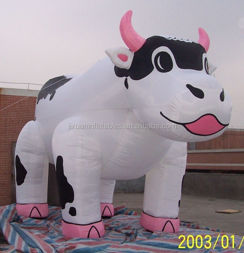 Size Milk Cow Inflatable