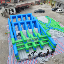 20 years factory price kids giant cheap inflatable obstacle course