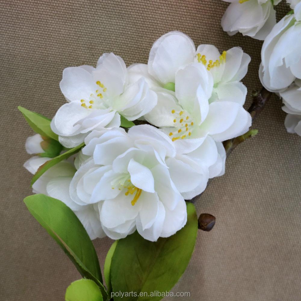 47 Artificial White Cherry Blossom Flowershigh End Artificial