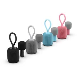 Fashion  portable party wireless karaoke microphone mini speaker