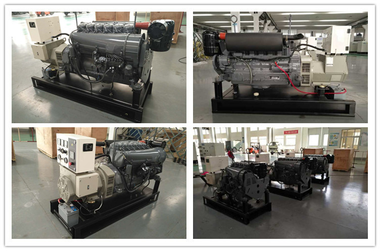 Hot selling 30kva deutz generator set with F4L912 engine