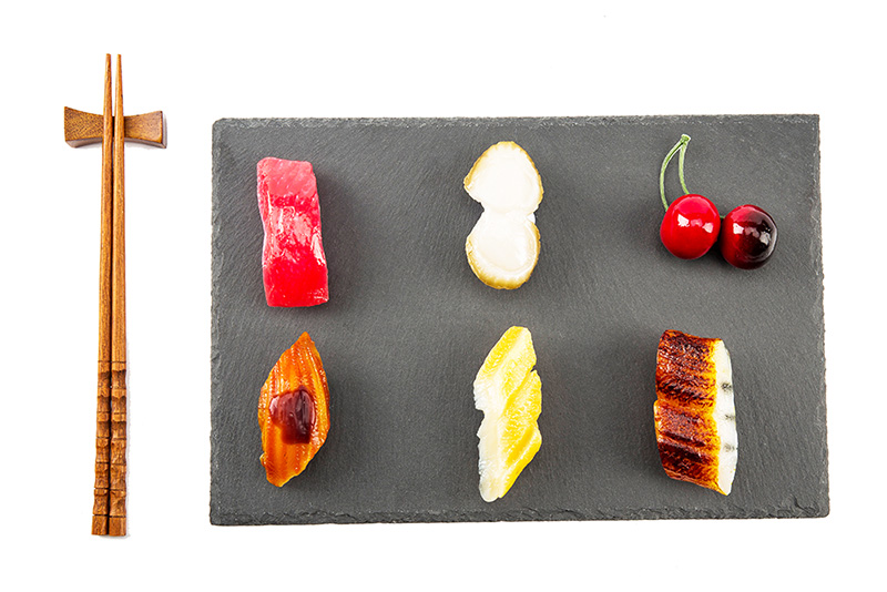 Factory Direct Sales Wholesale Natural Edge 30*20*0.5cm Rectangle Black Slate Stone Cheese Board Plate