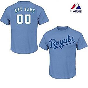 buy light blue kansas city royals 100 cotton crewneck blank or