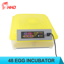 HHD good price automatic mini 48 eggs household chicken incubator for sale YZ8-48