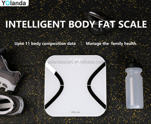 11 body composition data body Fat analyzer / Smart Bluetooth Monitor