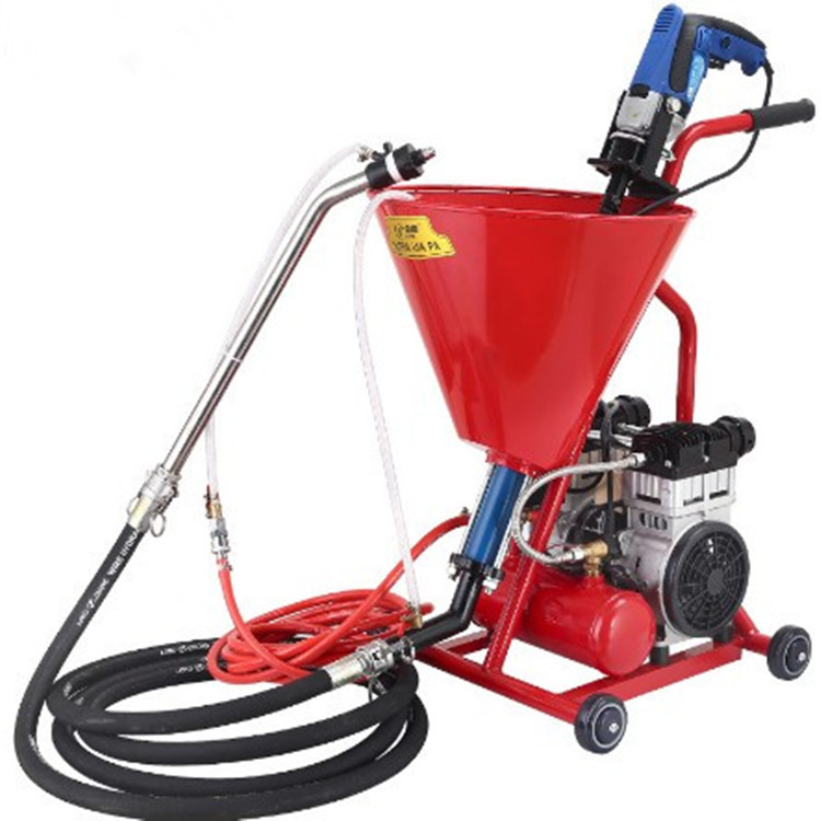 Hand operate grouting machine cement mortar spray pump