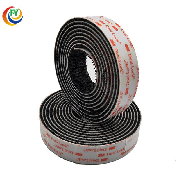 "3M SJ3560 Width 1/"" Inch Dual Lock VHB Tape Clear Adhesive Fastener Multi Length"