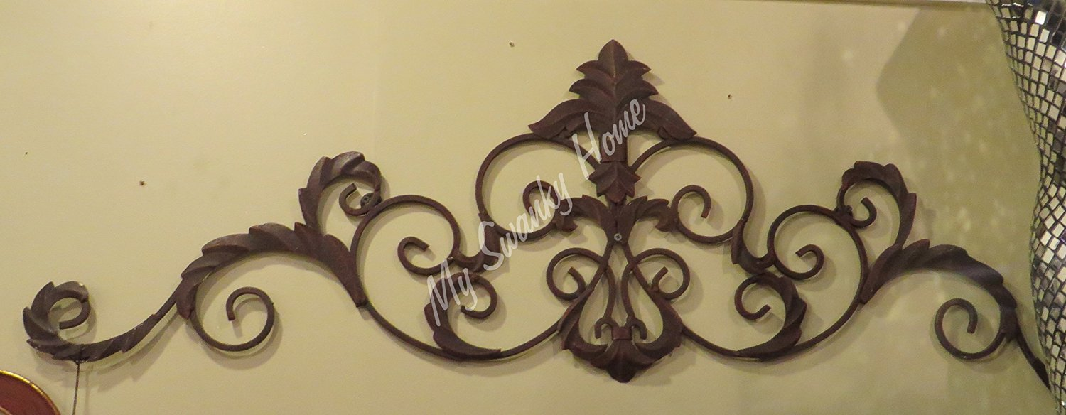 Unusual Wrought Iron Wall Grille Decor Pictures Inspiration - The ...