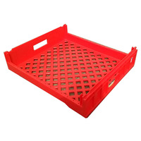 550*485*135mm cheap price plastic bread plastic bakery tray