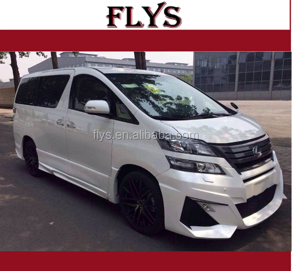 upgrade kit Vellfire WD body kit for Alphard Auto tuning wd style
