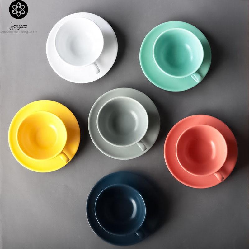 6er porcelaine tasses de café tasses tasse gobelet tasse service à café 200 ml