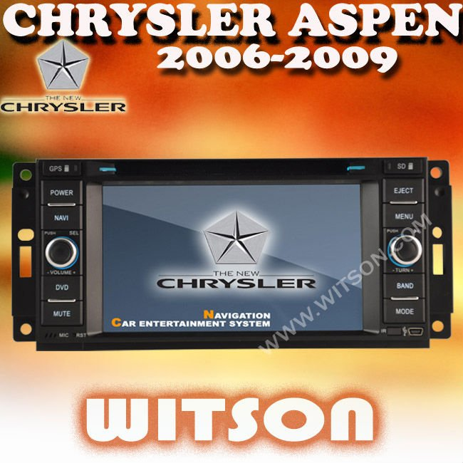 WITSON CHRYSLER ASPEN SHENZHEN CAR AUDIO with iPhone ready