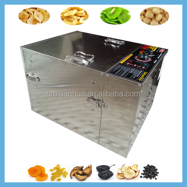 Energy Saving Automatic Electric Stainless Steel fruit slices drying machine For Home Use