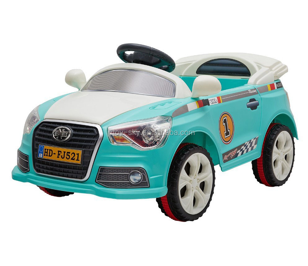 Hot Selling In Italy 6V Rechargeable Drive Children Kids Remote Battery Car Ride On Electric Car For Kids