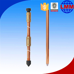 available copper bond ground rod price erico earth rod connectors