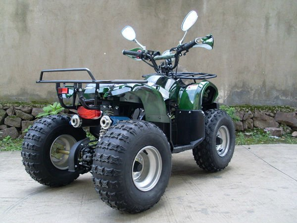 2017 cheap gas four wheelers kawasaki quad atv 125 for adults