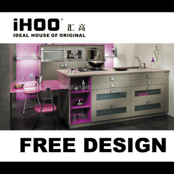 Foshan Display Modern Kitchen Cabinets Sale