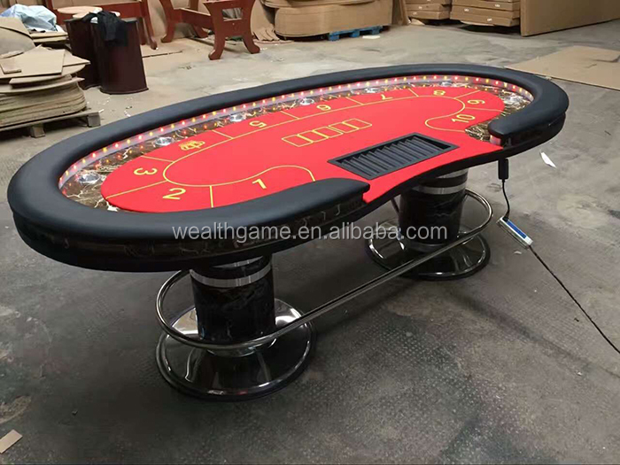 Pleasing Casino Quality Deluxe Bean Size Poker Table With Led Light Buy Casino Table Deluxe Poker Table Game Table Product On Alibaba Com Beutiful Home Inspiration Xortanetmahrainfo