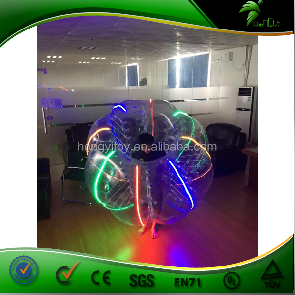 Fantastic Bumper Ball, Inflatable Bumper Ball With Colorful Light