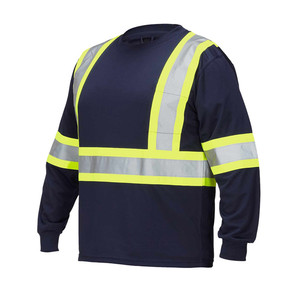Custom navy worker uniforms for man construction