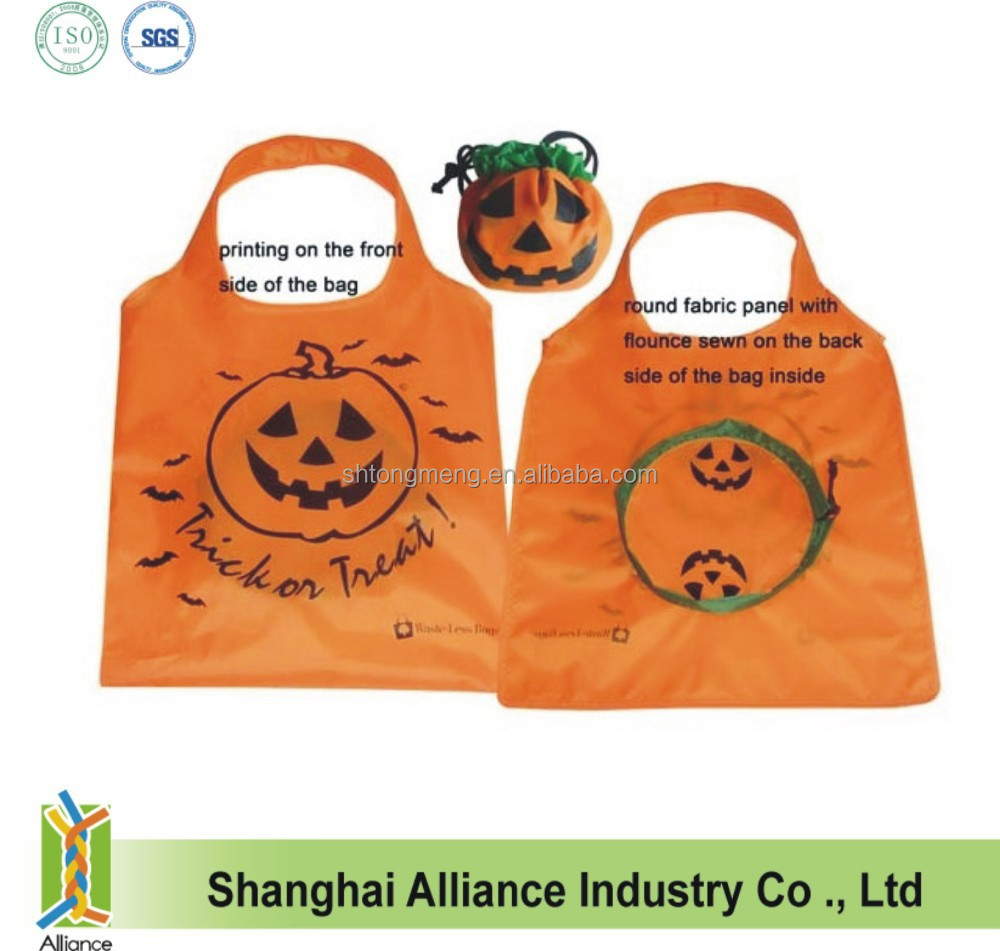 Halloween/Pumpkin/Promotion Foldable Shopping Bag